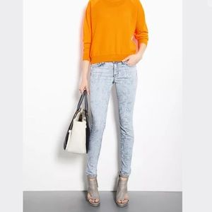 J Brand Skinny Jeans 25 Vintage Paisley